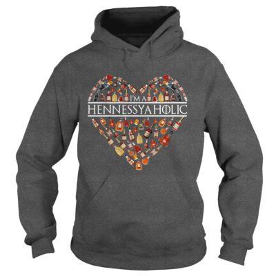 Im A Hennessyaholic Shirt1 400x400 - I'm A Hennessyaholic Shirt, Hoodie, LS, Sweatshirt