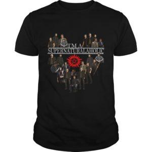 Im Supernatural Aholic Shirt 300x300 - I'm Supernatural Aholic Shirt, Hoodie, Long sleeve