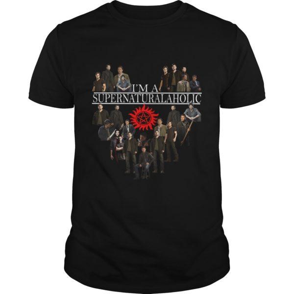 Im Supernatural Aholic Shirt 600x600 - I'm Supernatural Aholic Shirt, Hoodie, Long sleeve