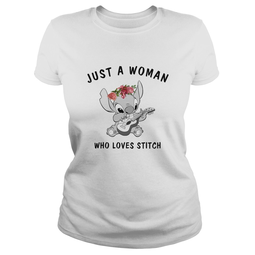 Just A Woman Who Loves Stitch Shirt - Just A Woman Who Loves Stitch Shirt, Hoodie, LS