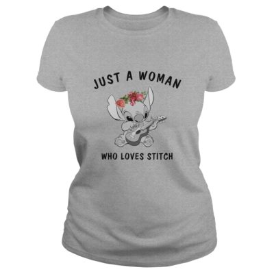 Just A Woman Who Loves Stitch Shirt1 400x400 - Just A Woman Who Loves Stitch Shirt, Hoodie, LS