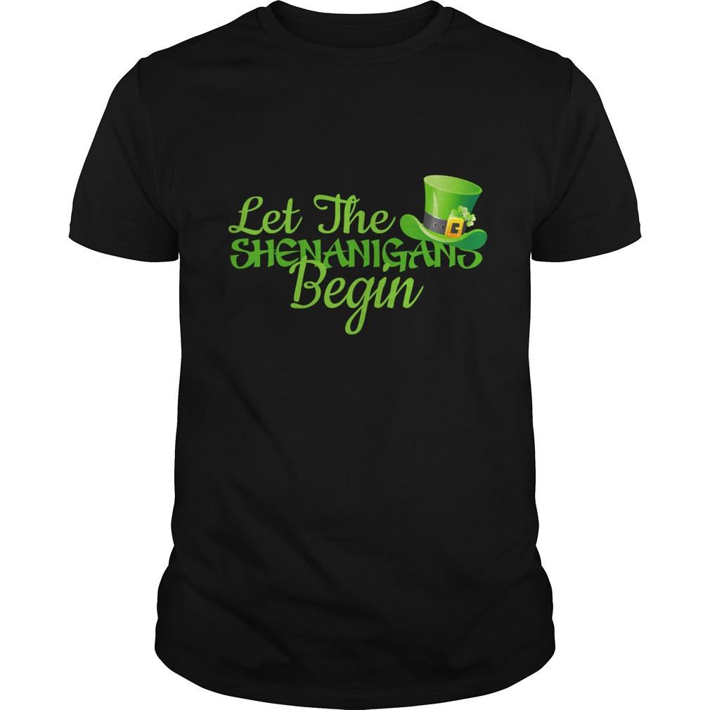 Let The Shenanigans Begin Shirt - Let The Shenanigans Begin Shirt, LS