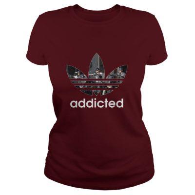Son Of Anarchy Addicted Shirt2 400x400 - Son Of Anarchy Addicted Shirt, Hoodie, LS, SweatShirt