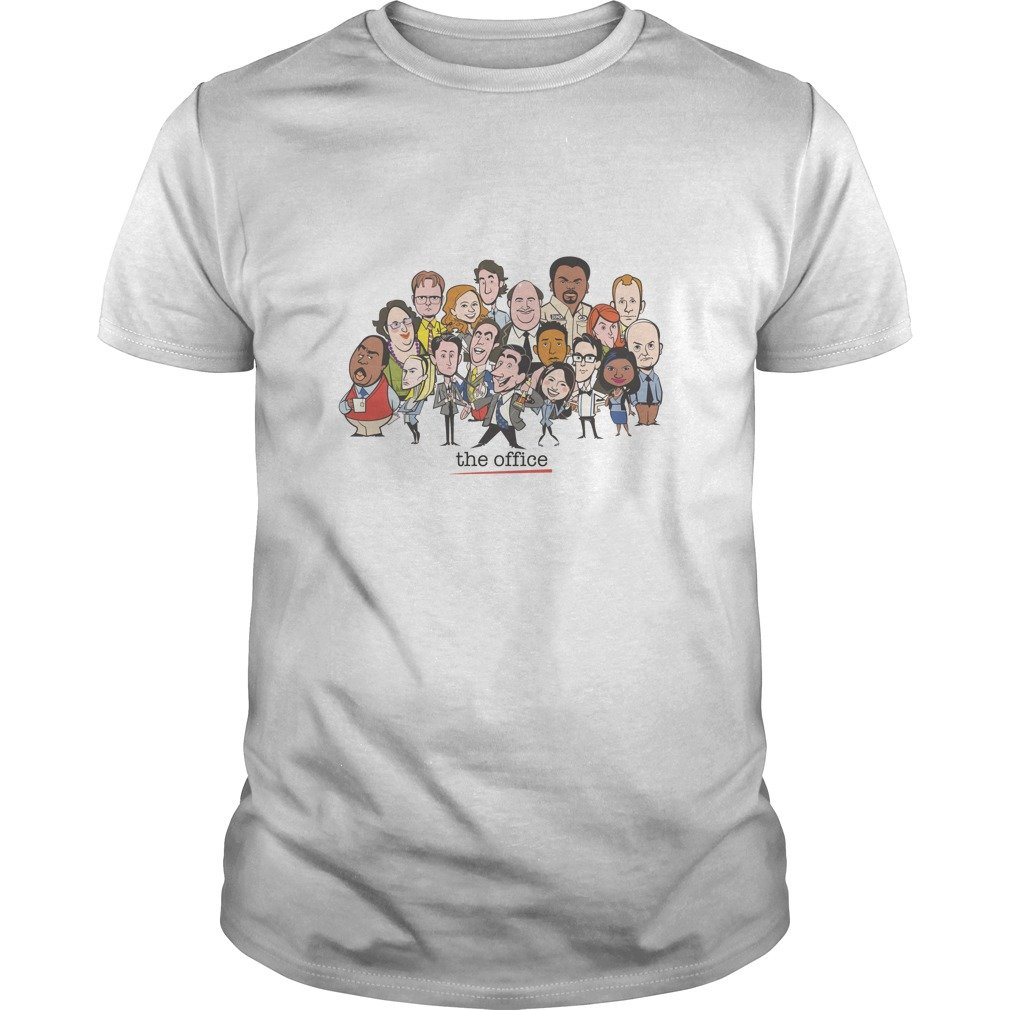 The Office Cartoons Character Shirt - The Office Cartoons Character Shirt, Hoodie, LS