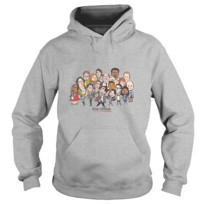 The Office Cartoons Character Shirt1 400x400 - The Office Cartoons Character Shirt, Hoodie, LS