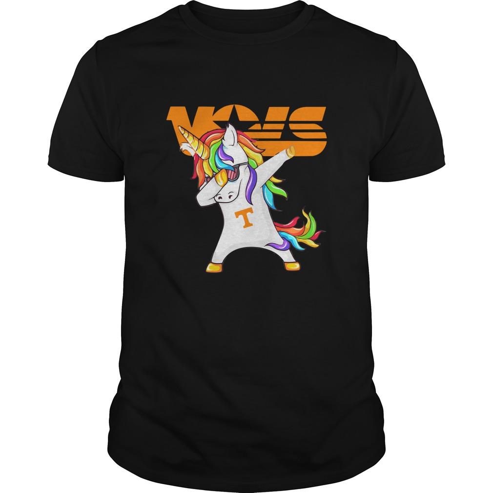 Unicorn Dabbing Tennessee Vols Shirt - Unicorn Dabbing Tennessee Vols Shirt, Hoodie, LS