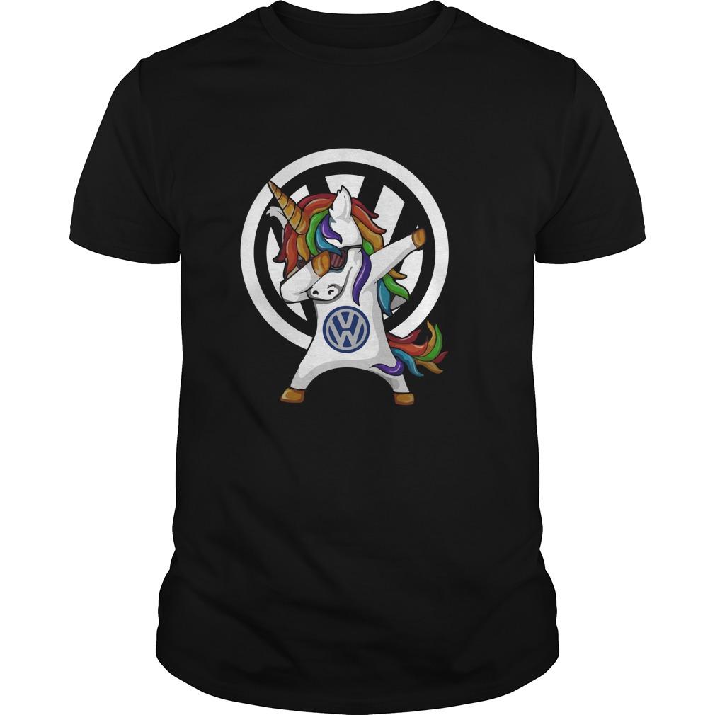 Unicorn Dabbing Volkswagen Shirt - Unicorn Dabbing Volkswagen Shirt, Hoodie, Long sleeve