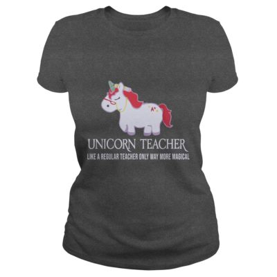 Unicorn Teacher Shirt2 400x400 - Unicorn Teacher Like A Regular Teacher Only Way More Magical Shirt, Hoodie