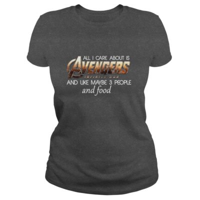 All I Care About Is Avengers Infinity War And Like Maybe 3 People Shirt2 400x400 - All I Care About Is Avengers Infinity War And Like Maybe 3 People Shirt, LS