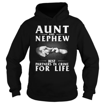 Aunt And Nephew Best Partners In Crime For Life shirt2 400x400 - Aunt And Nephew Best Partners In Crime For Life shirt, ladies