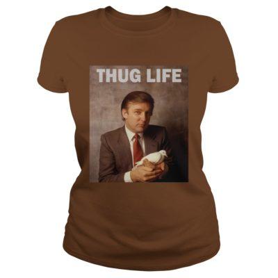 Donald Trump Thug Life Bird Dove shirt1 400x400 - Donald Trump Thug Life Bird Dove shirt, hoodie, long sleeve