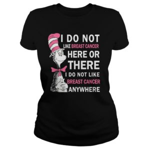 Dr. Seuss I do not like Breast Cancer here or there shirt 300x300 - Dr. Seuss: I do not like Breast cancer here or there shirt, hoodie