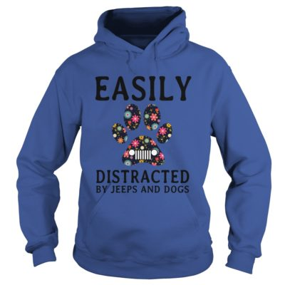 Easily distracted by Jeeps and Dogs shirt3 400x400 - Easily distracted by Jeeps and Dogs shirt, hoodie, ladies