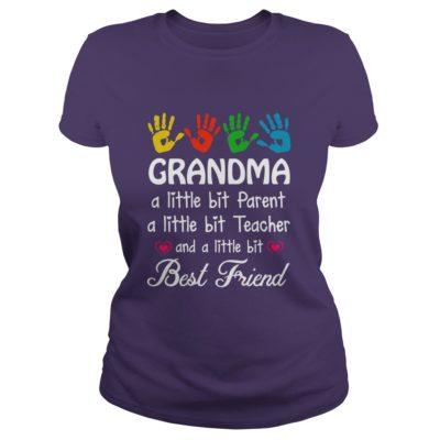 Grandma a little bit parent a little bit teacher and best friends shirt1 400x400 - Grandma a little bit parent a little bit teacher and best friends shirt