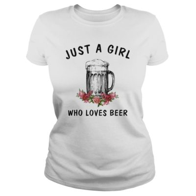 Just a girl who loves Beer shirt 400x400 - Just a girl who loves Beer shirt , ladies, long sleeve