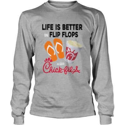 Life Is Better In Flip Flops With Chick fil A shirt3 Copy 400x400 - Life Is Better In Flip Flops With Chick-fil-A shirt, hoodie