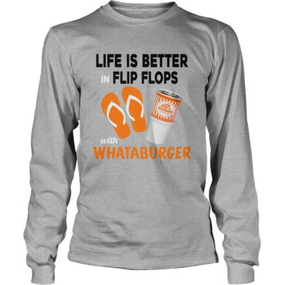Life Is Better In Flip Flops With Whataburger shirt1 400x400 - Life Is Better In Flip Flops With Whataburger shirt, hoodie, tank