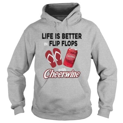 Life is better in Flip Flops with Cheerwine shirt1 400x400 - Life is better in Flip Flops with Cheerwine shirt, long sleeve, tank