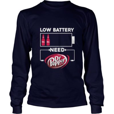 Low battery need Dr Pepper shirt3 400x400 - Low battery need Dr Pepper shirt, long sleeve, ladies
