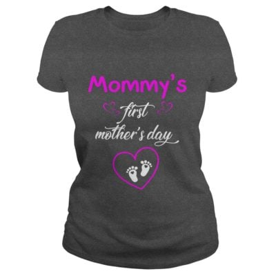 Mommys first Mothers day shirt 400x400 - Mommy's first Mother's day shirt, hoodie, ladies