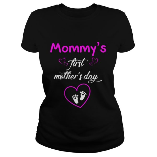 Mommys first Mothers day shirt1 600x600 - Mommy's first Mother's day shirt, hoodie, ladies