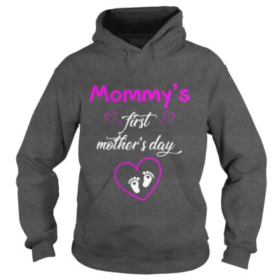Mommys first Mothers day shirt2 400x400 - Mommy's first Mother's day shirt, hoodie, ladies