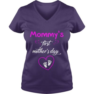 Mommys first Mothers day shirt3 400x400 - Mommy's first Mother's day shirt, hoodie, ladies