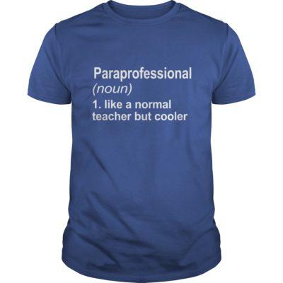 Paraprofessional shirt1 400x400 - Paraprofessional shirt, long sleeve, ladies