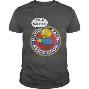 Ralph Wiggum Im A Militia Shirt 300x300 - Ralph Wiggum: I'm A Militia Shirt, Hoodie, Long sleeve