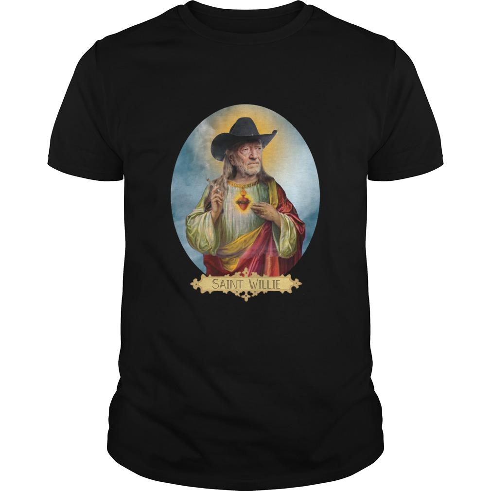 223df958 Saint Willie Nelson Prayer Candle shirt, long sleeve, ladies - Rockatee