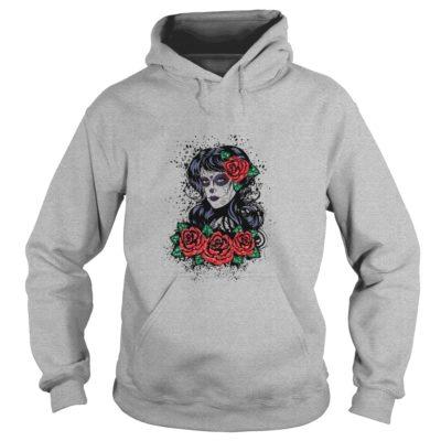Skull Girl Tattoo shirt3 400x400 - Skull Girl Tattoo t-shirt, hoodie, ls