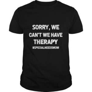 Sorry We Cant We Have Therapy shirt 300x300 - Sorry, We Can't We Have Therapy shirt, ladies, hoodie