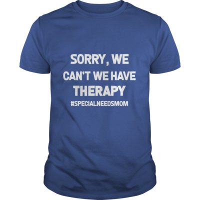 Sorry We Cant We Have Therapy shirt1 400x400 - Sorry, We Can't We Have Therapy shirt, ladies, hoodie