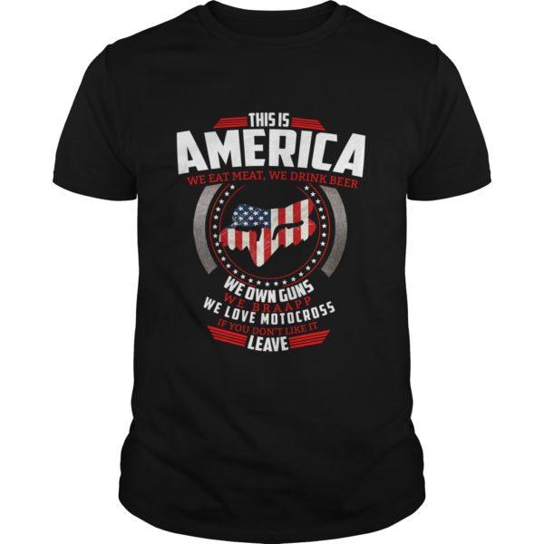 This is America we eat meat we drink beer we own guns shirt 600x600 - This is America we eat meat, we drink beer, we own guns shirt, hoodie