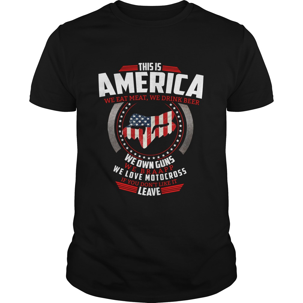This is America we eat meat we drink beer we own guns shirt - This is America we eat meat, we drink beer, we own guns shirt, hoodie