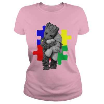 Autism Groot hug Teddy bear ladies 400x400 - Autism Groot hug Teddy bear shirt, ladies