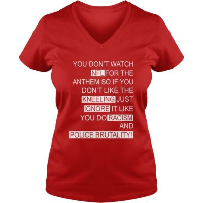 ... Colin Kaepernick You Dont Watch NFL For The Anthem ladies v neck  400x400 - Colin Kaepernick 99ae5c9b3