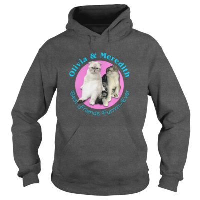 Deadpool Olivia and Meredith Best Friends Purrrrr Ever hoodie 400x400 - Deadpool: Olivia and Meredith Best Friends Purrrrr - Ever shirt, long sleeve