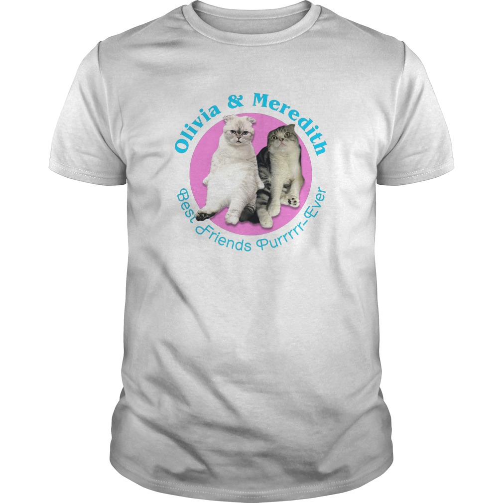 Deadpool Olivia and Meredith Best Friends Purrrrr Ever shirt - Deadpool: Olivia and Meredith Best Friends Purrrrr - Ever shirt, long sleeve