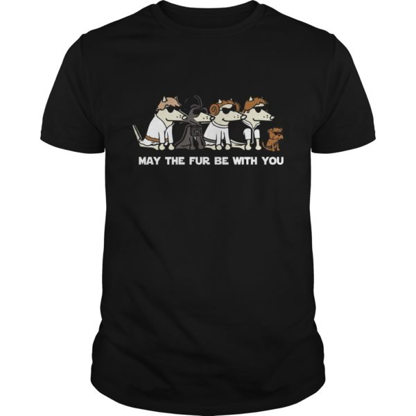 Dogs May the fur be with you shirt 600x600 - Dogs: May the fur be with you shirt, ladies, LS