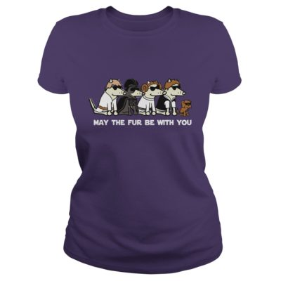 Dogs May the fur be with you shirt2 400x400 - Dogs: May the fur be with you shirt, ladies, LS