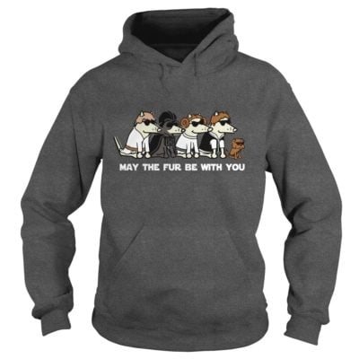 Dogs May the fur be with you shirt3 400x400 - Dogs: May the fur be with you shirt, ladies, LS