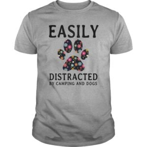 Easily Distracted By Camping and Dogs shirt 300x300 - Easily Distracted By Camping and Dogs shirt, hoodie, long sleeve