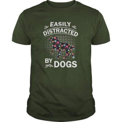 Easily Distracted by Dogs guys tee 400x400 - Easily Distracted by Dogs shirt, ladies, hoodie