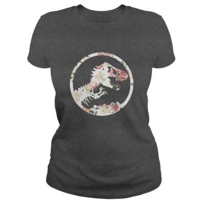 Floral Jurassic Park ladies tee 400x400 - Floral Jurassic Park shirt, hoodie, ladies tee, tank top