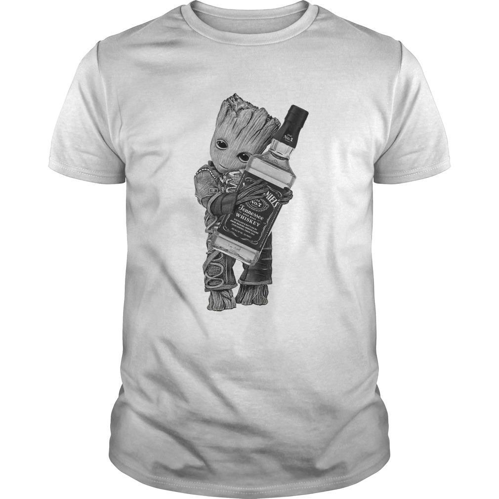Groot Hug Jack Daniels shirt - Groot Hug Jack Daniels shirt, hoodie, tank