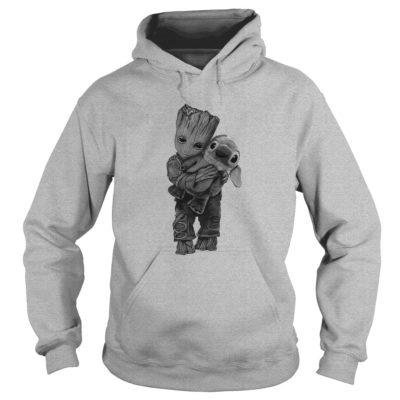 Groot Hugs Stitch hoodie 400x400 - Groot Hugs Stitch shirt, ladies tee, long sleeve, hoodie