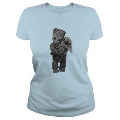 Groot Hugs Stitch ladies tee 400x400 - Groot Hugs Stitch shirt, ladies tee, long sleeve, hoodie