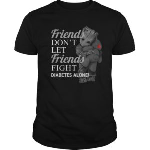 Groot hug Teddy Friends dont let Friends fight Diabetes alone shirt 300x300 - Groot hug Teddy Friends don't let Friends fight Diabetes alone shirt