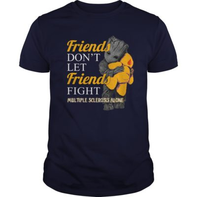 Groot hug Teddy Friends dont let Friends fight Multiple Sclerosis alone t shirt 400x400 - Groot hug Teddy Friends don't let Friends fight Multiple Sclerosis alone shirt